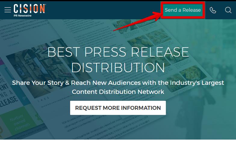 send press release