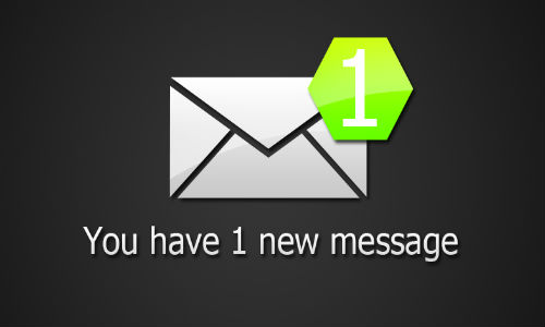 email notification symbol